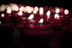 свеча, пятно от свечи