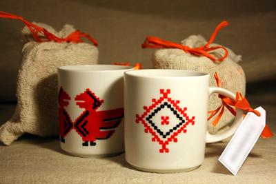 Роспись керамической посуды
