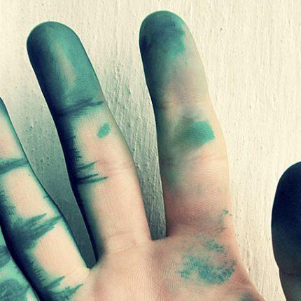 Как отмыть пятна от зеленки