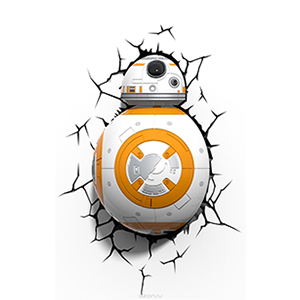 "3D Светильник ""Star Wars"" Дроид BB-8"