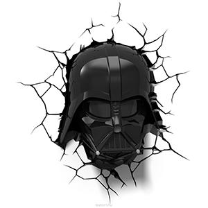 """Купить светильник с супер героем """"Star Wars"""" Маска Дарт Вейдер"""