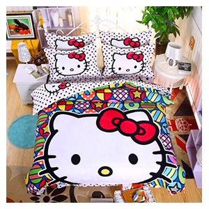 Детское постельное белье Hello Kitty - обзор - купить