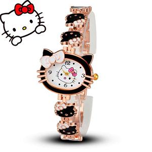 Купить наручные часы для ребенка Hello Kitty