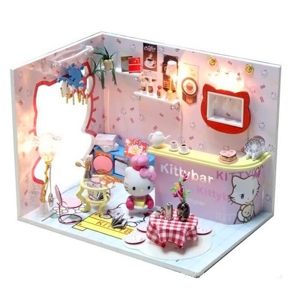 Купить кукольный домик Hello Kitty