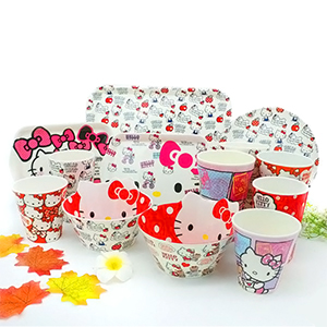 Купить набор посуды Hello Kitty