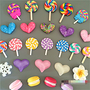 Магнит на холодильник - конфета на палочке - леденец - чупа-чупс