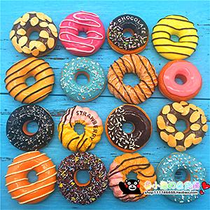 Магнит на холодильник - пончик - донат - сладости