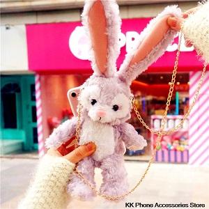 Чехол-кукла для телефона Плюшевый зайчик