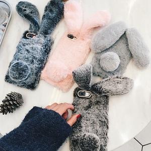 Пушистые чехлы для телефона - обзор - купить