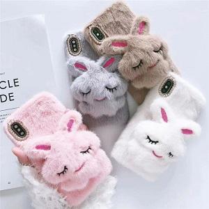 Пушистый кролик - чехол для телефона - обзор - купить