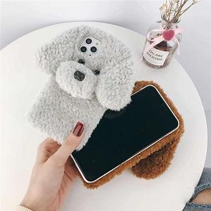 Зимний чехол с собакой