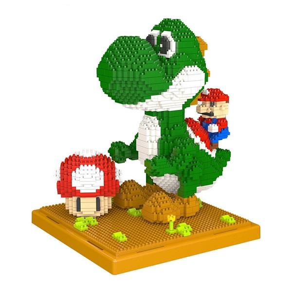 Объемный 3D конструктор Дино и Марио - обзор - купить
