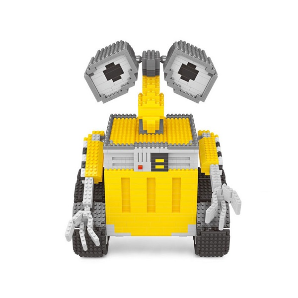 Объемный 3D конструктор Робот Валли - обзор - купить