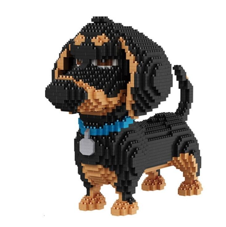 Объемный 3D Конструктор Тайная жизнь домашних животных - Такса Бадди - Дисней - обзор - купить