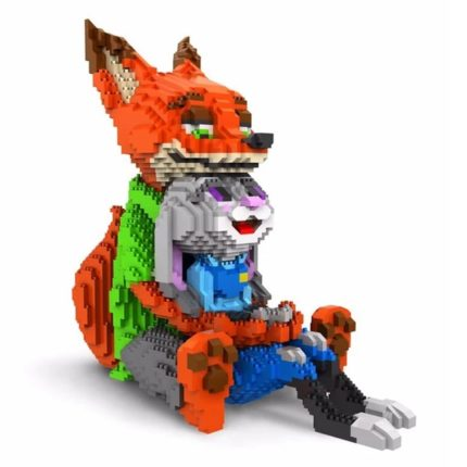3D Конструктор Зверополис - Джуди и Ник