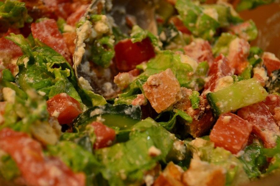 Греческий салат - вегетарианская кухня - рецепт