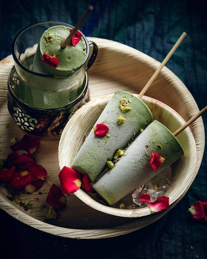 Домашнее мороженое из зеленого чая Матча - рецепт приготовления