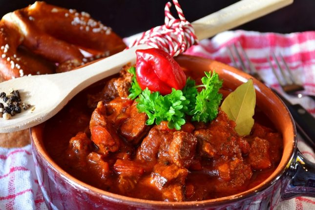 Венгерский гуляш - рецепт приготовления