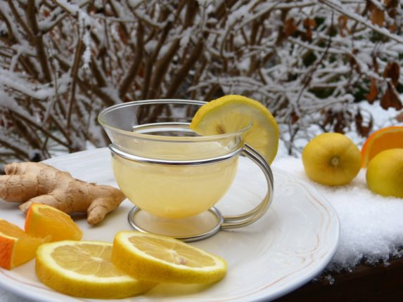 Имбирный чай - рецепт приготовления