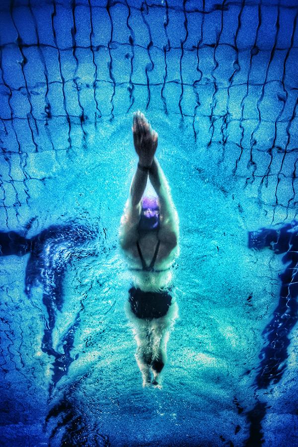Пловец - загадки о спорте для детей