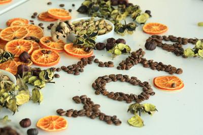 Арома-панно из сухоцветов, специй или винных пробок