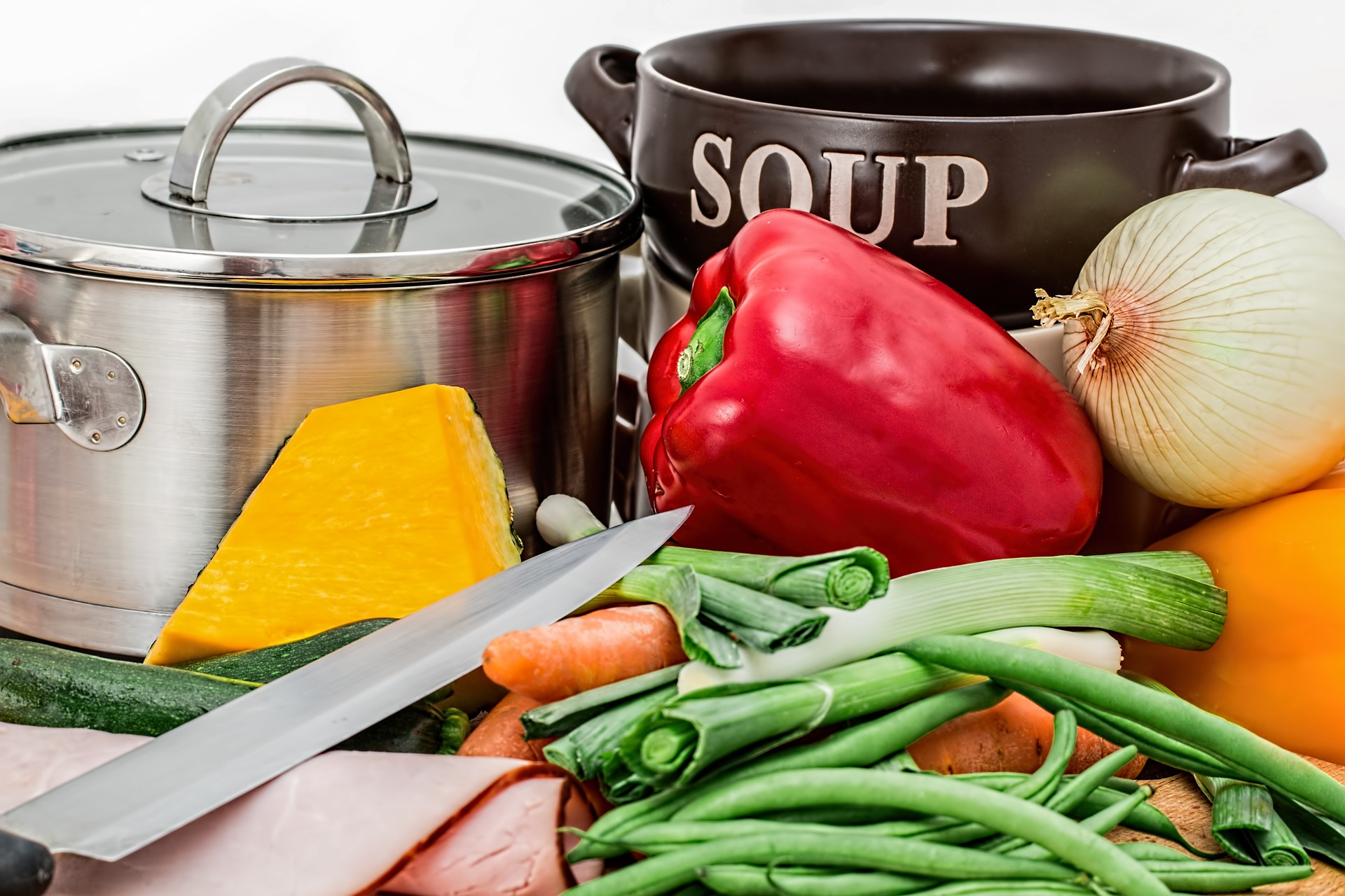 Рецепт Пестрый суп