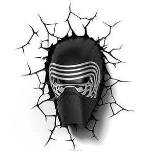 """Светильник с 3D-эффектом """"Star Wars"""" Кайло Рен"""