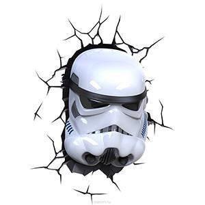 """Купить 3D-Светильник ребенку """"Star Wars"""" Штормтрупер"""