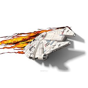 """3D Светильник """"Star Wars"""" Тысячелетний сокол"""