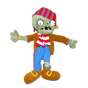 Plants vs Zombies мягкая игрушка зомби купить