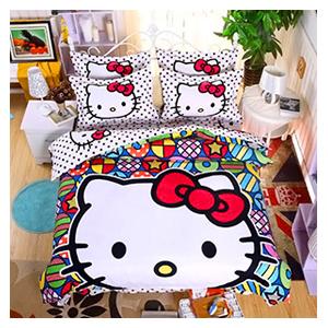 Детское постельное белье Hello Kitty - купить - обзор