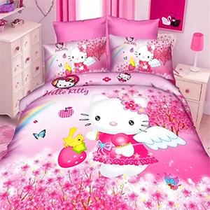 Купить постельные принадлежности Hello Kitty