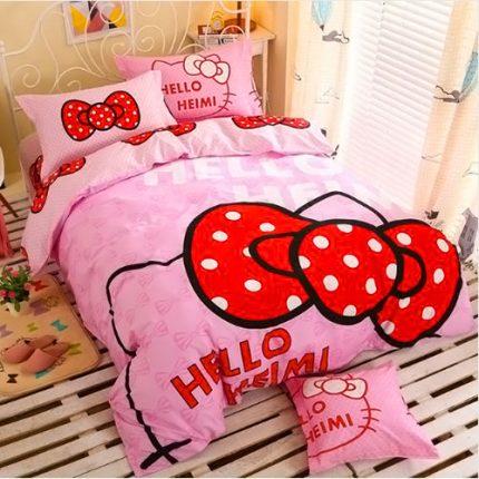 Купить постельное белье Hello Kitty