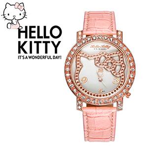Купить кварцевые наручные часы Hello Kitty