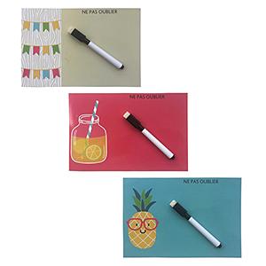 Магнитная доска с фруктами на холодильник - купить