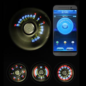 Светодиодный спиннер с Bluetooth управлением - купить - обзор